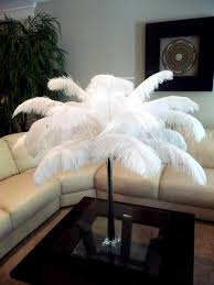free shipping 12 14inch 100pcs ostrich feathers wedding table