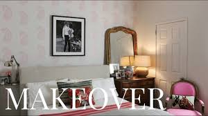 diy wall stencil u2013 bedroom before u0026 after youtube