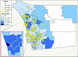 San Diego County Zip Code Map by Measles Outbreak In A Highly Vaccinated Population San Diego