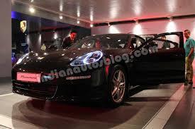 Porsche Panamera Facelift - 2014 porsche panamera facelift doors open indian autos blog