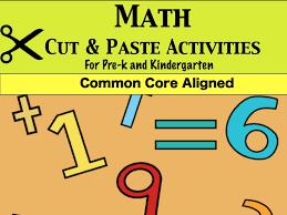 prek kinder math cut and paste worksheets u2013 jady a