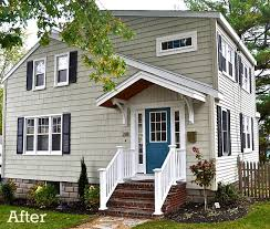 cottage house exterior house exterior after reno laurel s sopo cottage hooked on houses