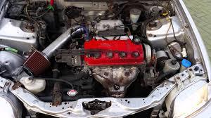 1999 honda civic engine honda civic 1 5 vtec 1999 230503km draaiende motor