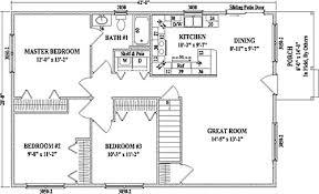 3 bedroom ranch floor plans cambridge by wardcraft homes ranch floorplan
