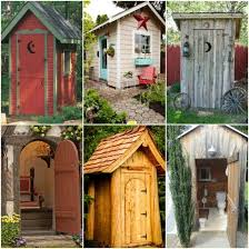 Garden Building Ideas 18 Outhouse Plans And Ideas For The Homestead