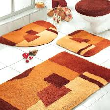 Bathroom Rugs At Walmart Bath Rugs Walmart Orange Rug Bathroom Sets With Toilet And White