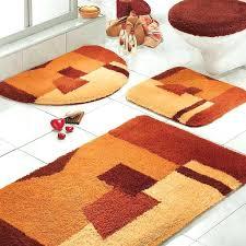 Rug For Bathroom Floor Bath Rugs Walmart Orange Rug Bathroom Sets With Toilet And White