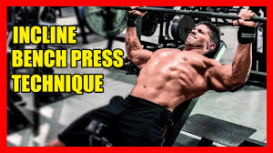How To Do A Incline Bench Press Bench Proper Incline Bench Build Bigger Triceps How To Incline