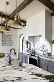 Grey Wash Kitchen Cabinets Beautiful Kitchen Features Gray Wash Cabinets Paired With Dark