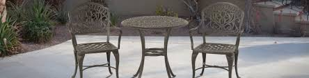 Aluminum Bistro Table And Chairs Hanamint Cast Aluminum Bistro Furniture Outdoor Cafe Furniture