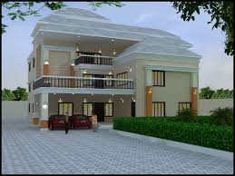 Home Design Duplex House Exterior line Homes