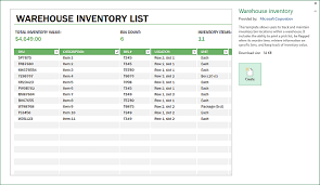 Inventory Management Template Excel Warehouse Operations Inventory Management Template Excel