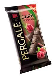 pergale dark chocolate with raspberry filling 100g u2013 lunii