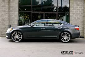lexus ls 460 on rims lexus ls460 with 22in savini bm12 wheels exclusively from butler