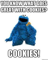Cookie Monster Meme - greatwithcookies recipes sweets 2 eat pinterest cookie monster
