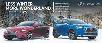 lexus calgary careers you decide two wheel four wheel or all wheel drive
