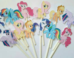 My Little Pony Party Centerpieces by My Little Pony Party Etsy
