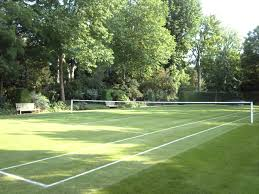 triyae com u003d grass tennis court in backyard various design