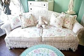 shabby chic sofa covers shabby chic slipcovers for couches tedl info