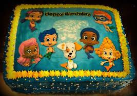 bubble guppies birthday cake from walmart bubble guppies