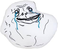 Smiley Meme - moodrush forever alone meme plush cushion rage face shop pillow