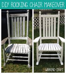 how to paint and care for cracker barrel rockers rockers