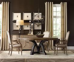 hooker furniture dining room corsica dark round dining table dark hooker furniture corsica dark round dining table dark base light top 5280