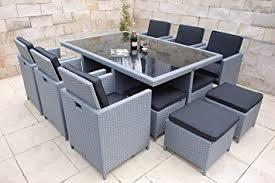 tavoli da giardino rattan ragnarök möbeldesign marchio tedesco produzione eignene 8 anni