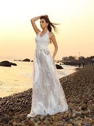 wedding dresses with sash ribbon a line princess halter sash ribbon belt sleeveless lace