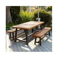 Rustic Patio Furniture Sets by Creative Of Outdoor Table With Benches Outdoor Patio Set Recycled