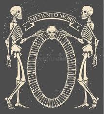 Memento Mori - memento mori stock vector illustration of skull spirits 53107299