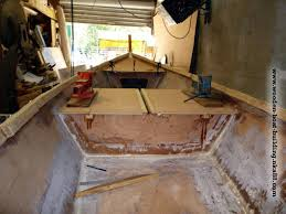 Free Wooden Boat Plans by Fiberglass And Epoxy Resin Stratification Of The Inside Of The