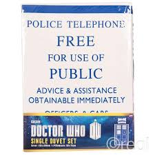 Dr Who Duvet Doctor Who Tardis Duvet U0026 Pillow Cover Set Single
