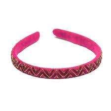 velvet headband pink velvet headband maati