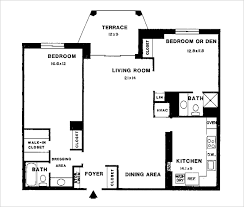 2 bedroom floorplans floor plans montebello marketing incorporated realtors