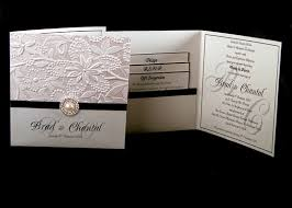 fancy wedding invitations wedding invitations square ivory floral pattern black
