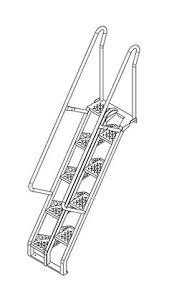 lapeyre stair alternating tread stair stairs pinterest