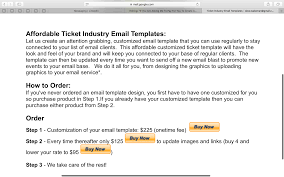 if you are asking me to pay for you to create an email template