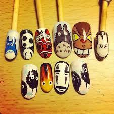 easy nail art characters 80 brilliant nail art images