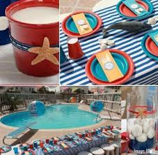 Pool Party Decoration Ideas Party Theme Ideas For Labor Day Best Holiday Pictures