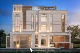 Neoclassical House by 375 M Private Villa Kuwait By Sarah Sadeq Architects Sarah