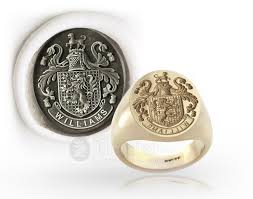 seal rings design images Family coat of arms jpg