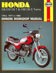 honda cd 125 tc benly 1982 1985 0125 cc haynes workshop manual