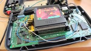 game gear backlight mod sega game gear led backlighting and cap repair japanese model