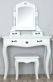 Mirrored Makeup Vanity Table White Desk Vanity U2013 Hugojimenez Me