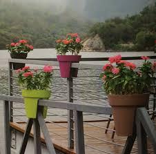 balcony railing planter pots flower pot for balcony buy planter