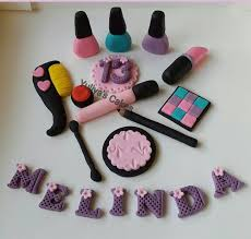 makeup cake toppers 102 best make up nails images on cupcake toppers