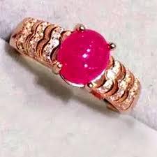 natural ruby rings images 1 5 carat natural ruby ring 925 sterling silver ring 100 real jpg