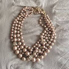 pearl rose gold necklace images 25 beste idee n over gold pearl necklace op pinterest gouden jpg