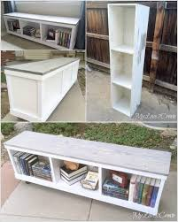these diy low bookcases are simply amazing